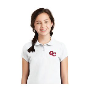 Girls Solid Color Polo