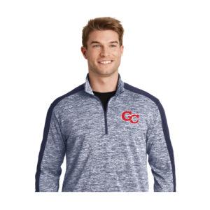 Men's Colorblock 1/2 Zip Pullover